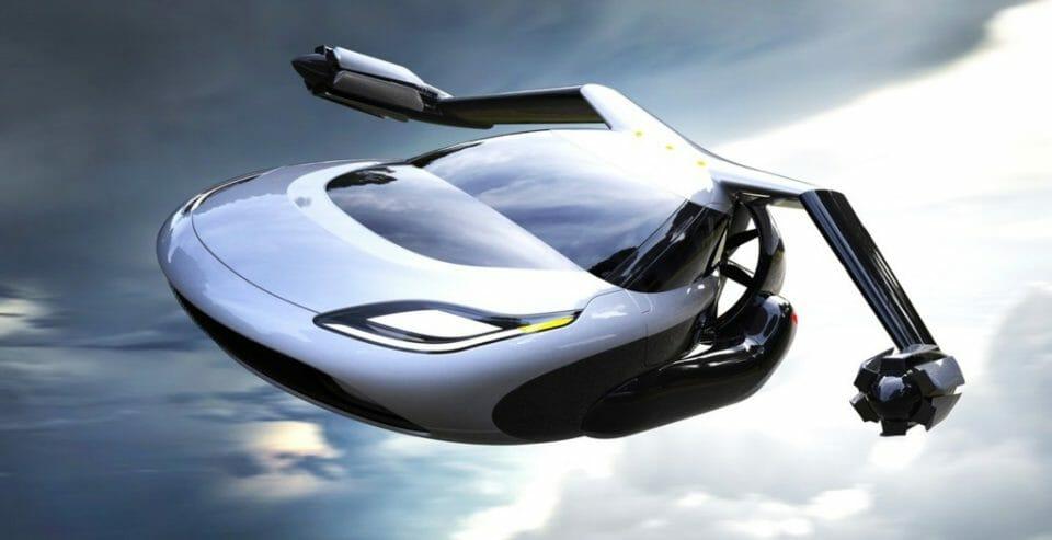 inventar el futuro - coche volador