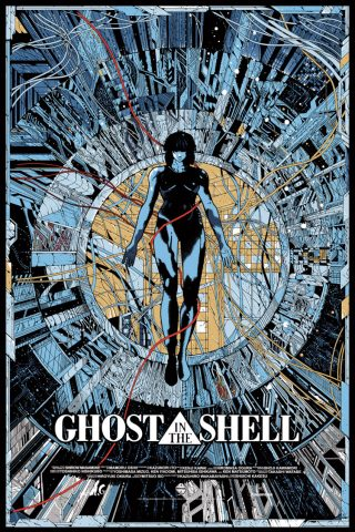 ghost in the shell cyberpunk manga