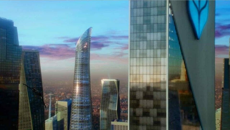 incorporated ciudad futurista ciencia ficcion