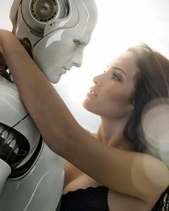 sexo con androides