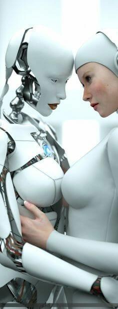 sexo con robots y androides