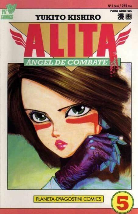 alita-angel-de-combate-ciberpunk-manga-portada